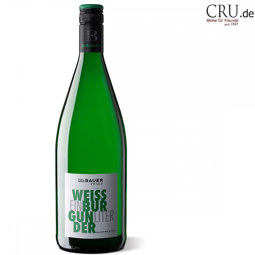 Weissburgunder in der praktischen Literflasche