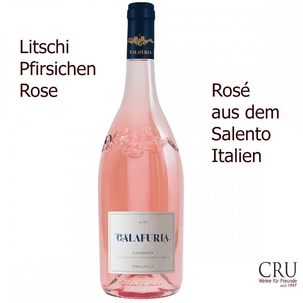 Calafuria Rose Negroamaro Salento IGT - Tormaresca