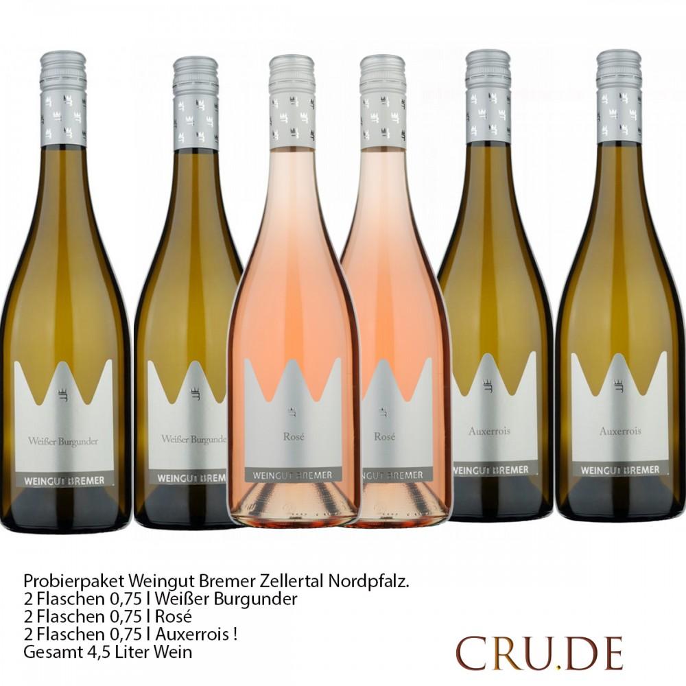 Probierpaket Weingut Bremer Zellertal