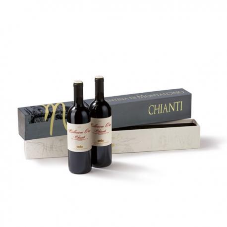 CHIANTI DUO 2013 Wein-Geschenkset