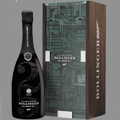 Bollinger Champagner - No Time to Die Edtion - James Bond 25