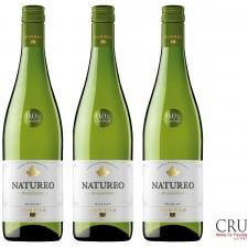 """3 x 0,75l Natureo Blanco Alkoholfrei """"Wein"""" Flalstaff 91 Punkte"""