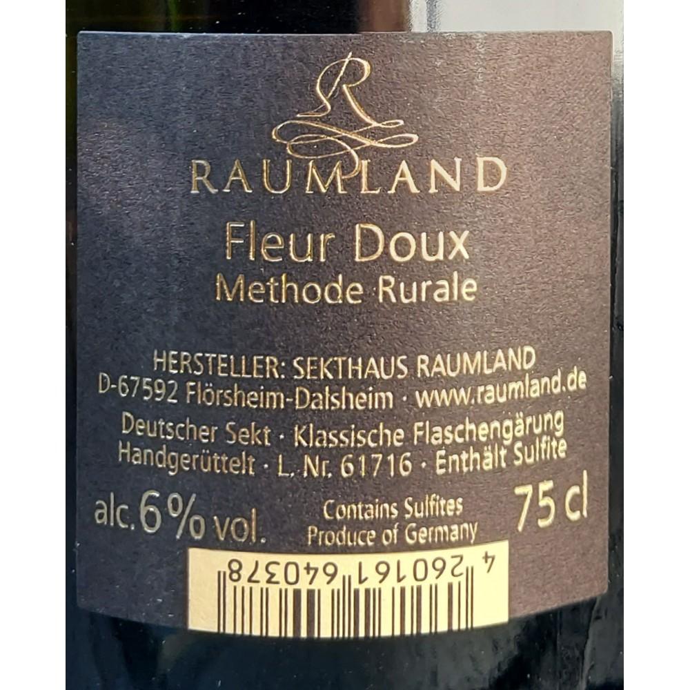 Fleur Doux  - Raumland  Etikett