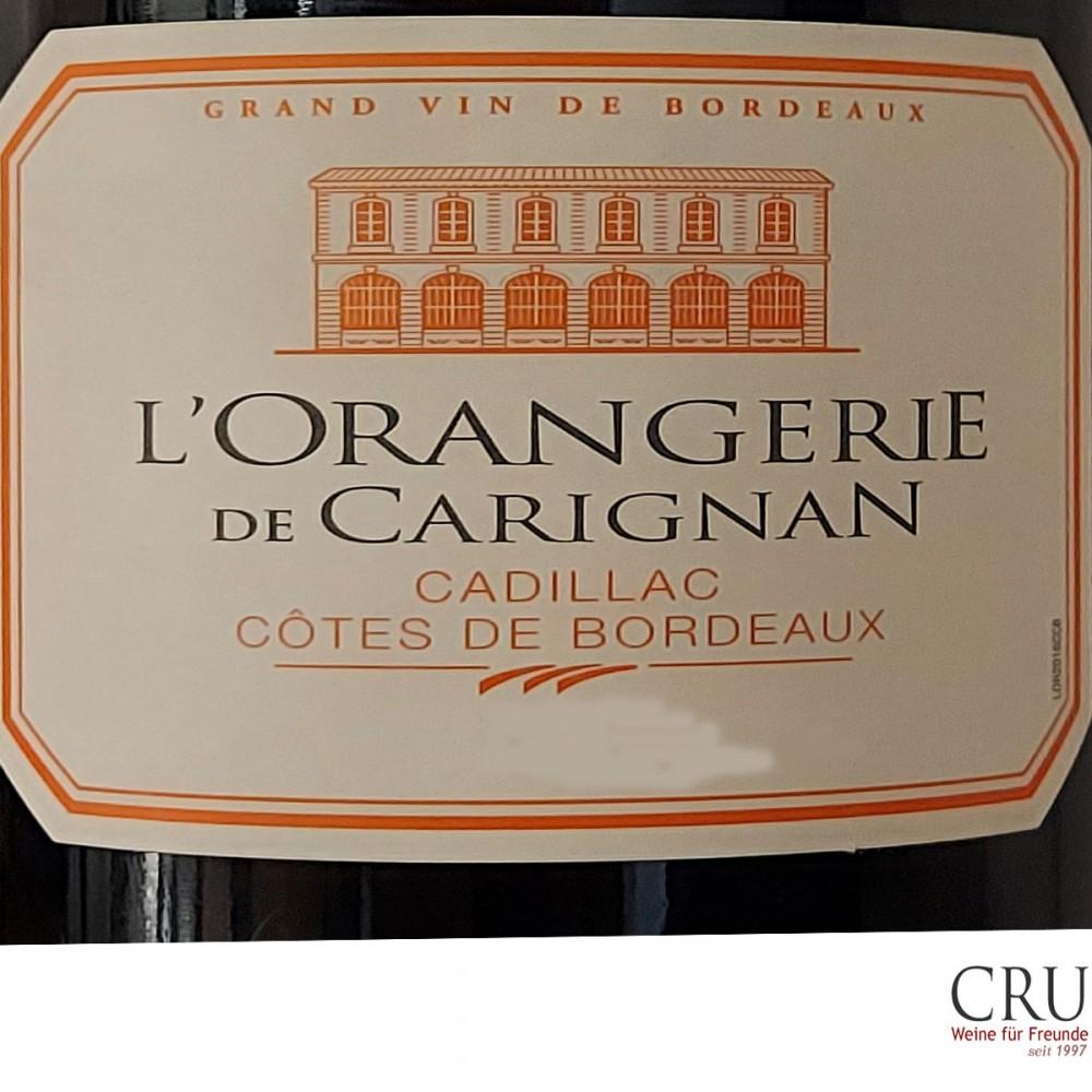 L' Orangerie de Carignan Premières Côtes de Bordeaux A.C.
