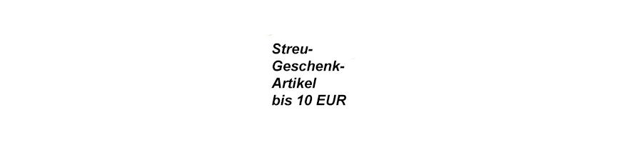 Streuwerbeartikeln bis 10 EUR