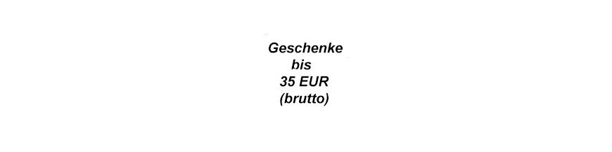 Geschenkideen bis 35 EUR
